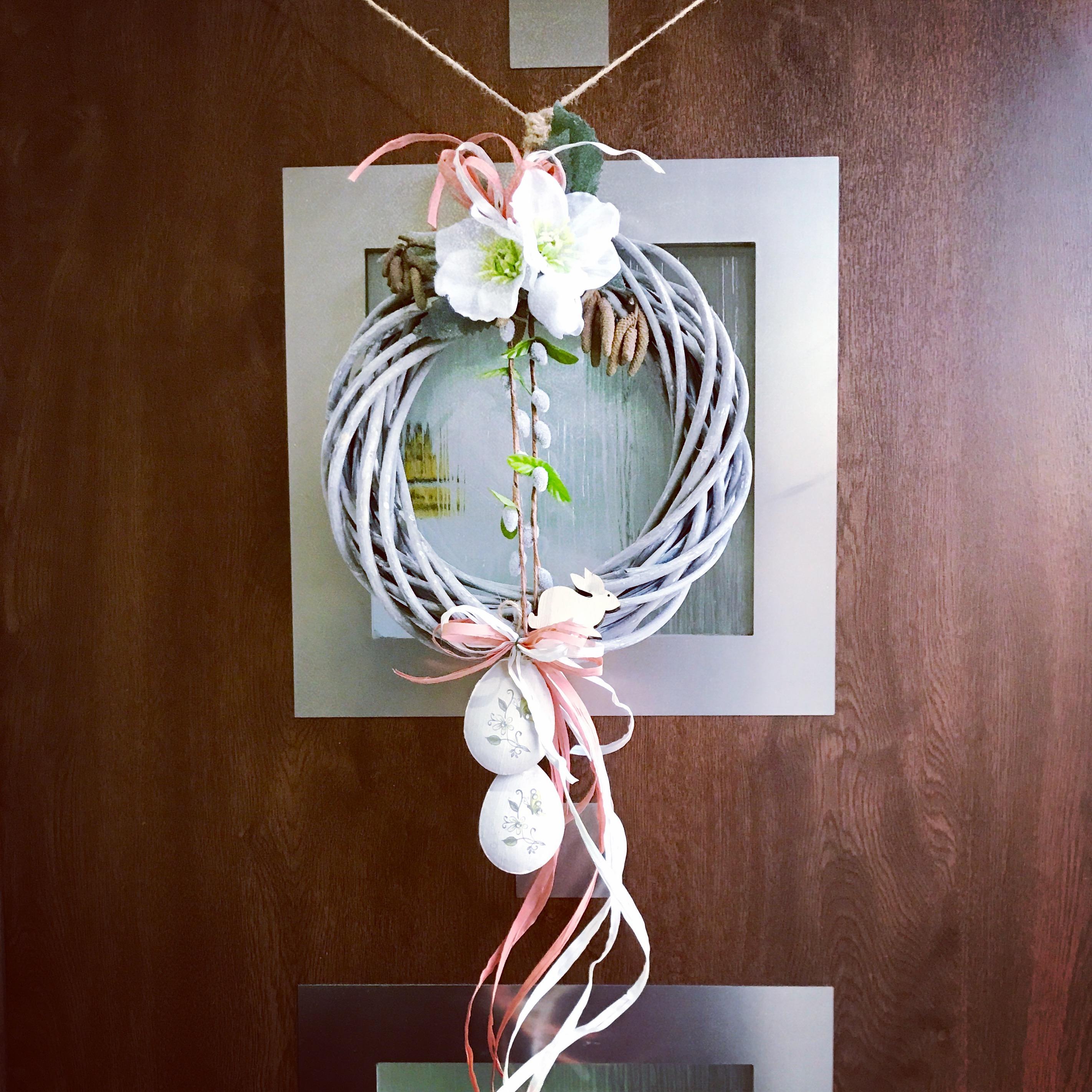 jarní dekorace věnec