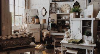 vintage styl bydlení