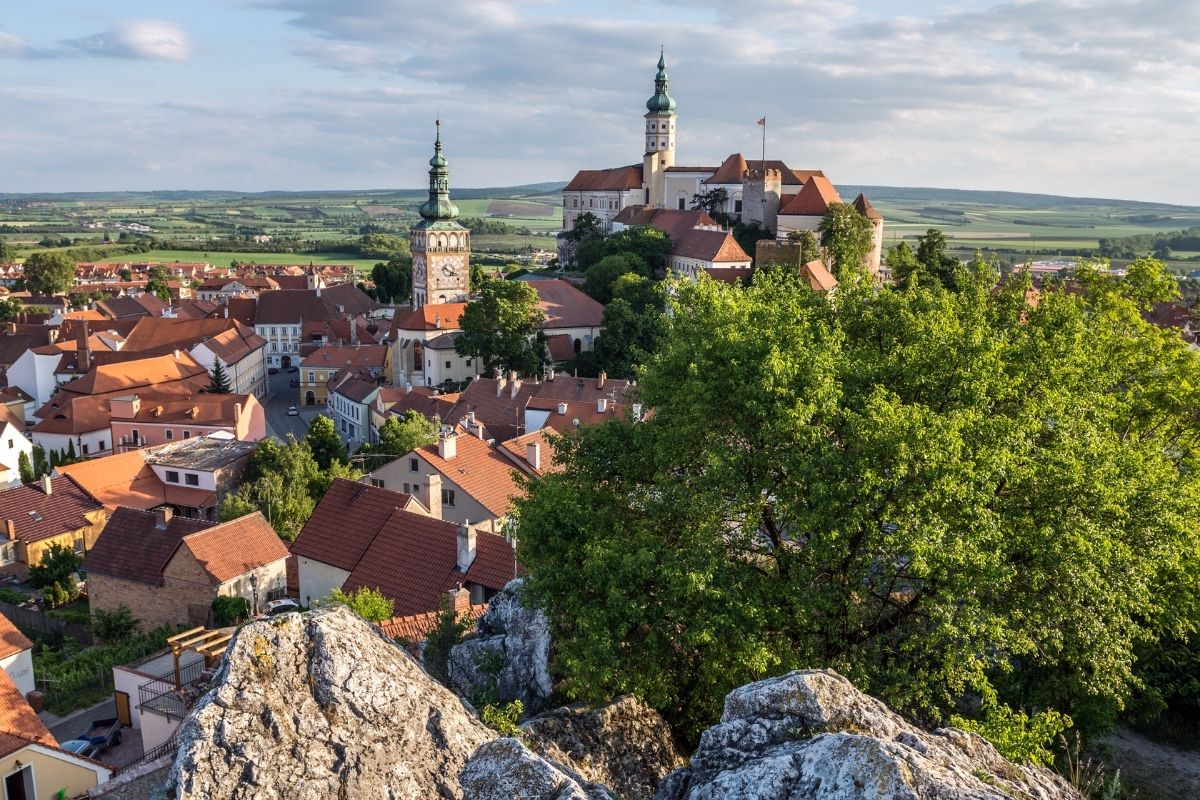 ubytování na jižní Moravě